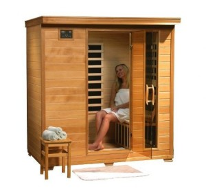4 Person Sauna Heat Wave Hemlock