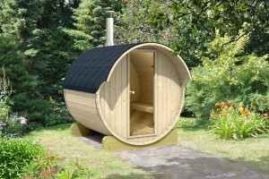 Allwood Barrel Sauna #220-WHC