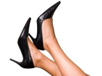 mature women legs stilettos