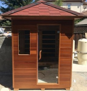 3 PERSON SIERRA RUSTIC CANADIAN CEDAR OUTDOOR