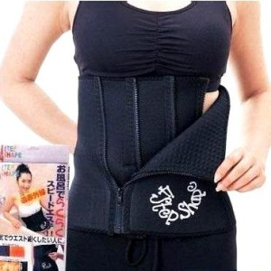 4 Steps Weight Sweat Sauna Loss Slimming Belt