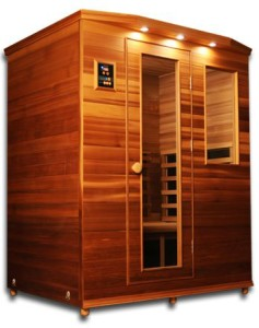 ClearLight IS-3 Three Person Red Cedar Sauna