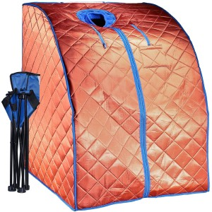 DURHERM XLarge Negative Ion Portable Indoor Sauna